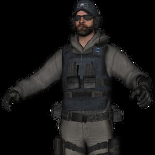 Pierre In Tatical Lightweight Uniform