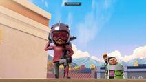 Rocketeer stop the evil sisters