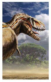 Tyrannosaurus rex detail by dustdevil-d4ofc6j