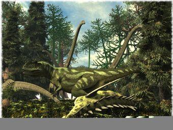 HuntingYangchuanosaurus
