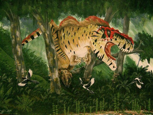 File:Tyrannosaurus rex by alexandernevsky.jpg