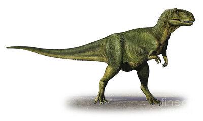 Abelisaurus-comahuensis-a-prehistoric-sergey-krasovskiy (1)