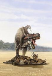Tyrannosaurus rex by kenpuren-d49mvmv