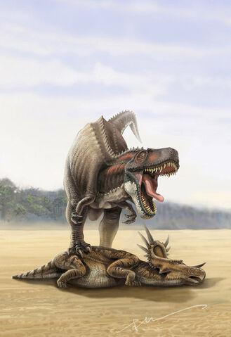 File:Tyrannosaurus rex by kenpuren-d49mvmv.jpg