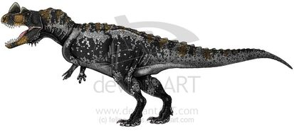 Ceratosaurus nasicornis by felipe elias