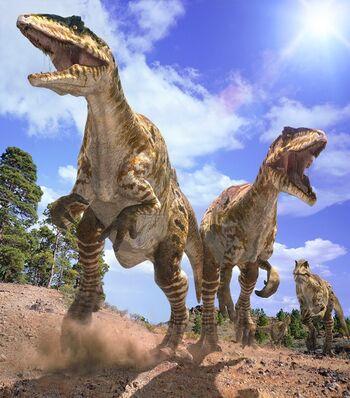 Giganotosaurus pack
