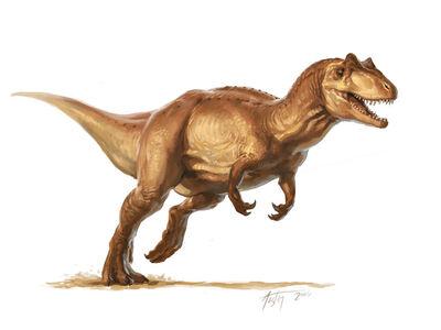 Allosaurus by tavari
