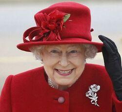 Queen Elizabeth II hat 8