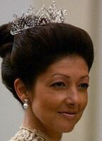 Alexandra Alexandrine Diamond Drop Tiara