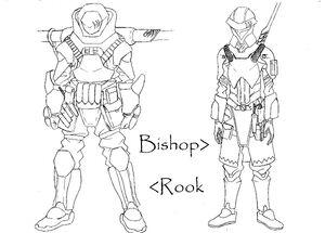 Bishop dan rook