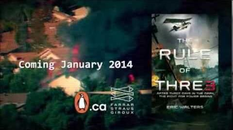 Book Trailer The Rule of Three by Eric Walters