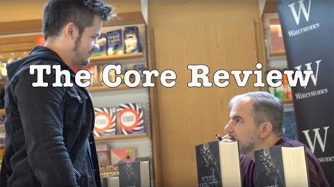 The Core (spoiler free) Book Review - Meeting Peter V Brett - The Demon Cycle is FINISHED