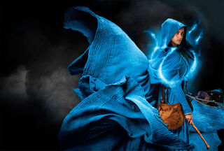 Fleur Randall-billowing blue cloak-shrunk-IMG 3891
