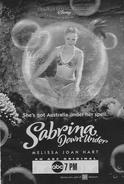 Sabrina down under poster