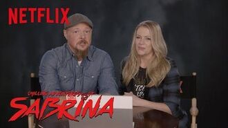 Chilling Adventures of Sabrina The Cast of Sabrina The Teenage Witch Reacts Netflix