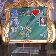 The secret board