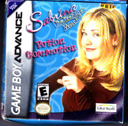 Game Boy Advance Sabrina the Teenage Witch Potion Commotion Front Cover