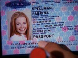 Sabrina passport