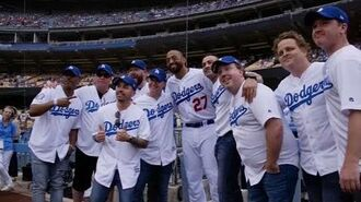 Sandlot the Movie reunion at Dodger Stadium