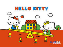 Hello kitty and mimmy