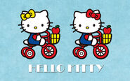 Hello-kitty-mimmy-tricycles