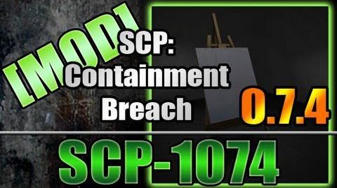 SCP Containment Breach - SCP-1074 (Mod)