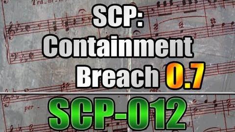 *NEW!* SCP-012 in SCP Containment Breach v0.7