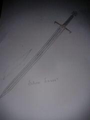 Schnee Schwert