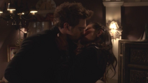 Grey Damon and Phoebe Tonkin as Lee and Faye