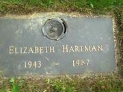 Elizabeth Hartman Gravestone