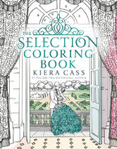 The Selection Coloring Book Cover