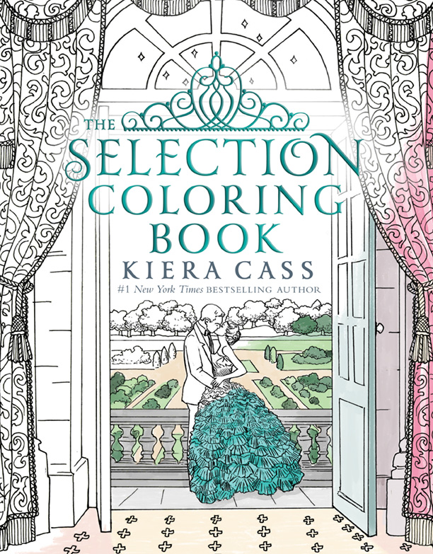 Image - The Selection Coloring Book Cover.jpg | The Selection Wiki ...
