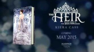 THE HEIR by Kiera Cass—Cover Reveal Video