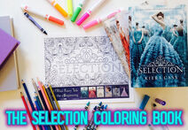 Selection Coloring Book by Epic Reads