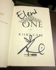 Autograph by Kiera Cass
