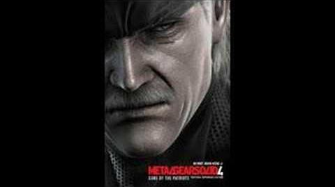 Metal Gear Solid 4 Soundtrack Father and Son