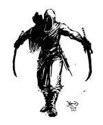 Al-Haim; Fighting stance