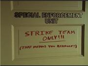 Strike Team HQ room