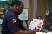 5x07 Black sergeant writing