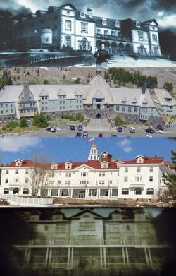 Overlook Hotel-montage