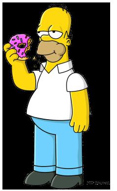 Homer Simpson 2006-D