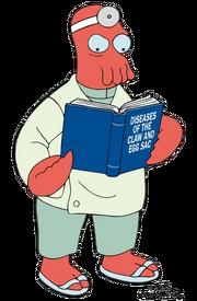 看书的医生