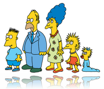 The first simpsons famyli
