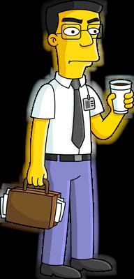 弗兰克喝咖啡