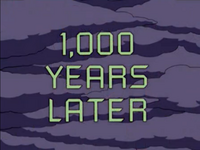 1000年后