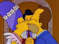 霍默与玛琦结婚