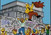 柏林墙倒塌