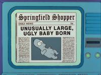 """""""非同寻常之大,丑陋婴儿之诞"""""""
