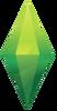 TS4 Logo Plumbob