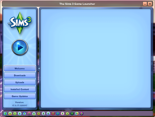 File:TS3 blank welcome screen.png